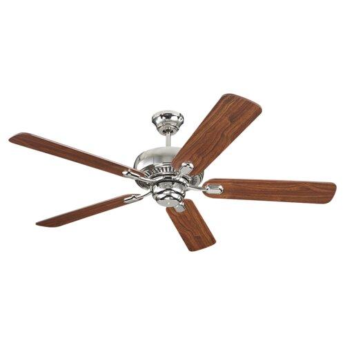 """Monte Carlo Fan Company 52"""" Centro 5 Blade Dual Mount Ceiling Fan"""