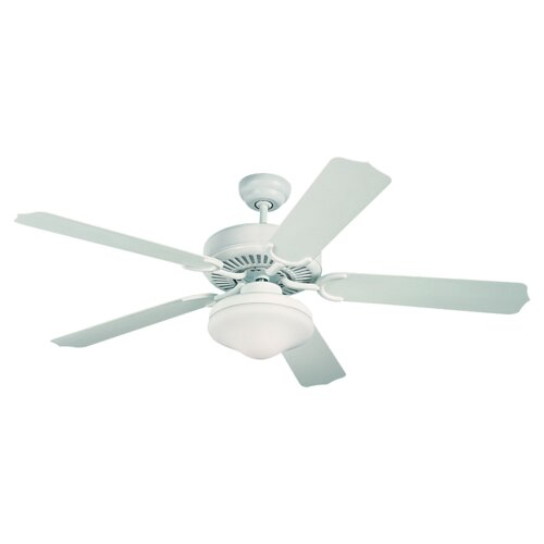 "Monte Carlo Fan Company 52"" Weatherford Deluxe 5 Blade Outdoor Ceiling Fan"