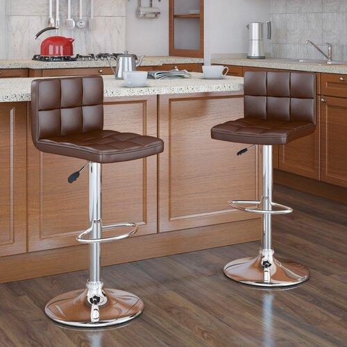 CorLiving Adjustable Bar Stool (Set of 2)