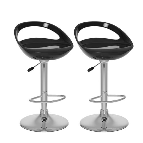 dCOR design CorLiving Adjustable Bar Stool (Set of 2)