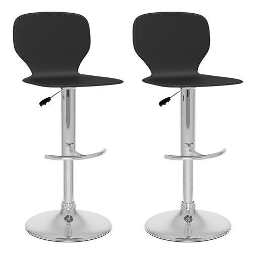 Adjustable Bar Stool (Set of 2)
