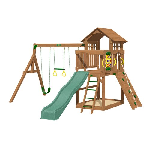 Playtime Swing Sets Eagle Point Swing Set