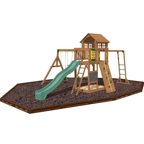 Playtime Swing Sets Cypress Swing Set