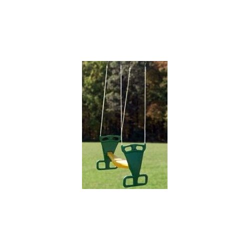 Playtime Swing Sets Back to Back Glider with Rope