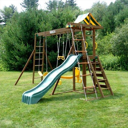 Playtime Swing Sets Laser Swing Set