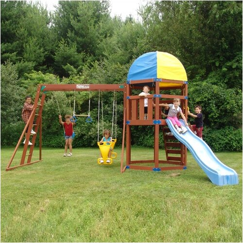 Playtime Swing Sets Thistle Swing Set