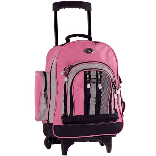 CalPak Awestruck Double Compartment Rolling Backpack