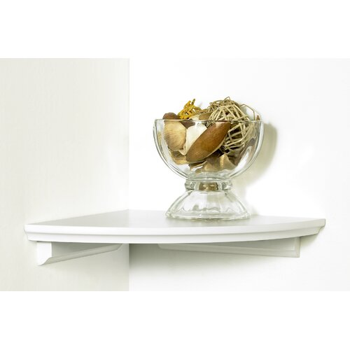 kathy ireland by LH Licensed Products Square Cottage Corner Shelf