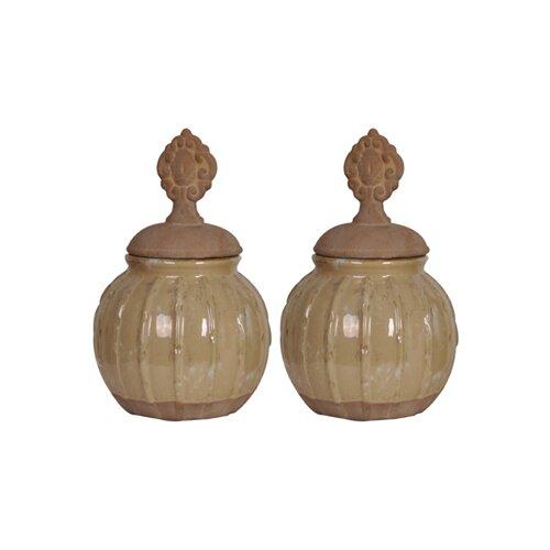 The Hamptons 2 Piece Celest Vase Set