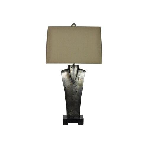 """Crestview Collection Isabella 34.5"""" H Table Lamp with Drum Shade"""