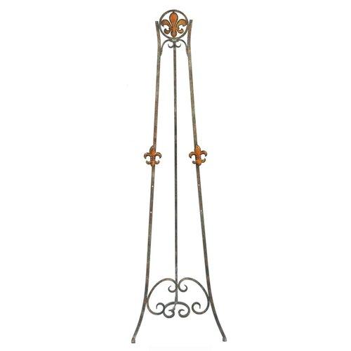 Crestview Collection Fleur-de-lis Colored Easel