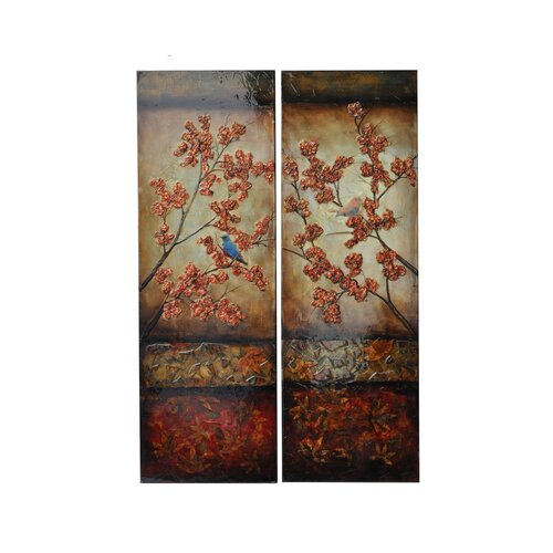 Stanwood 2 Piece Original Painting on Canvas Set (Set of 2)