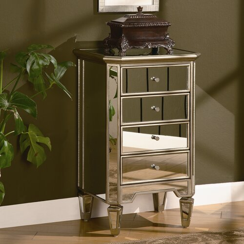Lustre 4 Drawer Chest