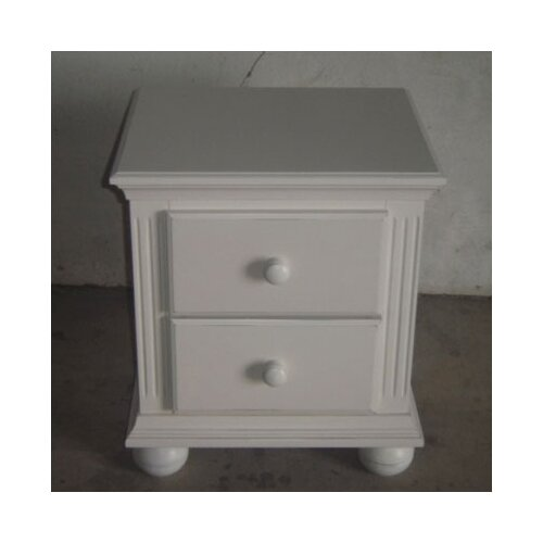 Sorelle Vista 2 Drawer Nightstand