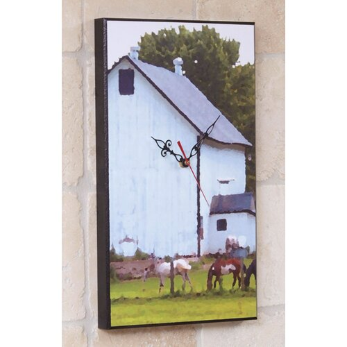 Wilson Studios Barn Wall Clock