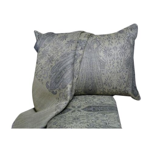 Floral Paisley Wool Duvet Cover