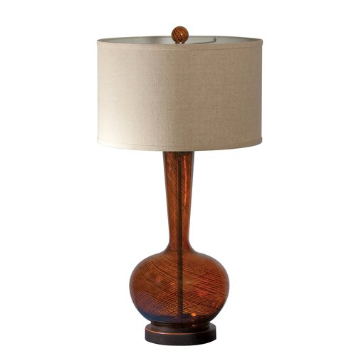 "AF Lighting Fitzgerald 32"" H Table Lamp with Drum Shade"