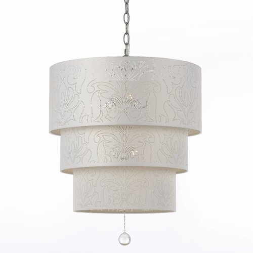 AF Lighting Candice Olson Over The Top 5 Light Drum Pendant