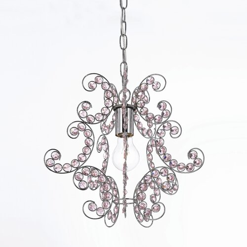 AF Lighting Elements Sweet Dream 1 Light Foyer Pendant