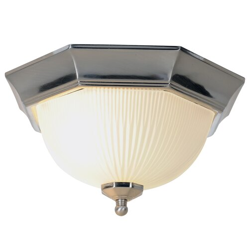 AF Lighting 1 Light Flush Mount