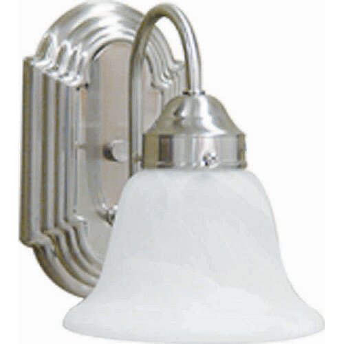AF Lighting Lunar Bay 1 Light Bath Vanity Light