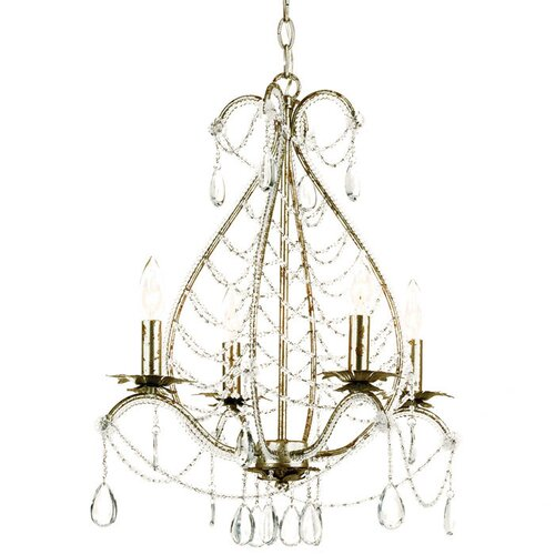 Belinda 4 Light Mini Chandelier