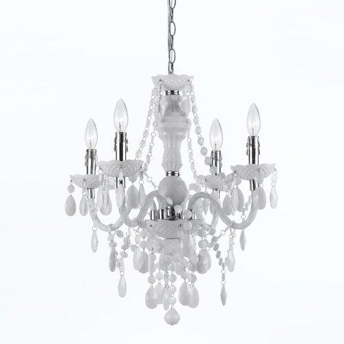 Elements 4 Light Mini Chandelier