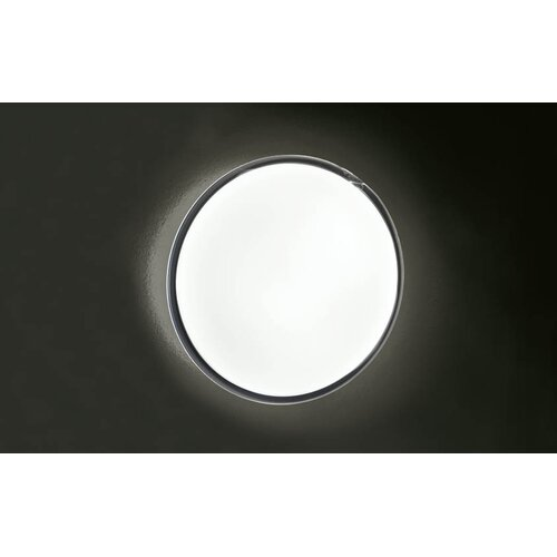 Murano Luce Candida Flush Mount in White