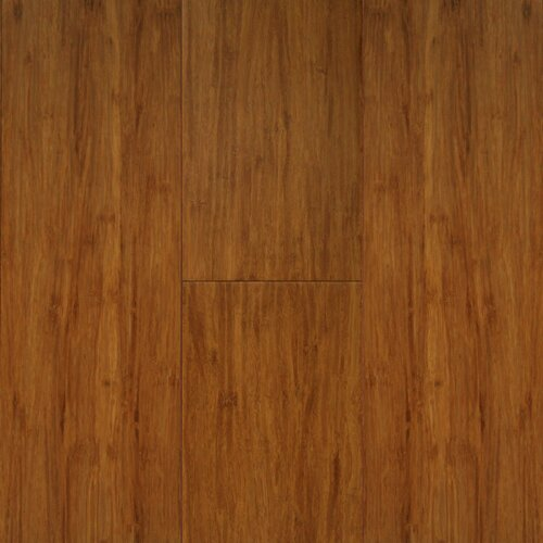 "US Floors Natural Bamboo Exotiques 5-5/8"" Engineered Strand Woven Bamboo Flooring in Spice"