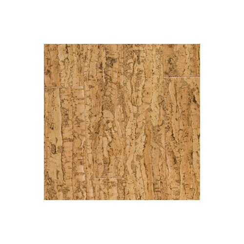 "US Floors Almada Tira 4-1/8"" Engineered Locking Cork Flooring in Natural"