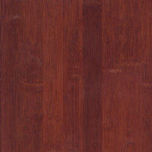 "US Floors Glueless Locking 5-1/4"" Engineered Bamboo Flooring in Cognac"