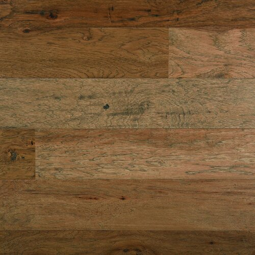 "Columbia Flooring Chatham 5"" Engineered Hickory Flooring in Canoe"