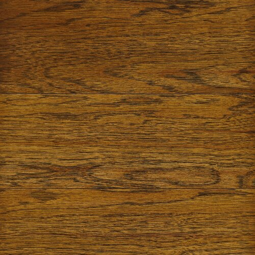 """Columbia Flooring Chase 3"""" Engineered Hickory Flooring in Leather"""