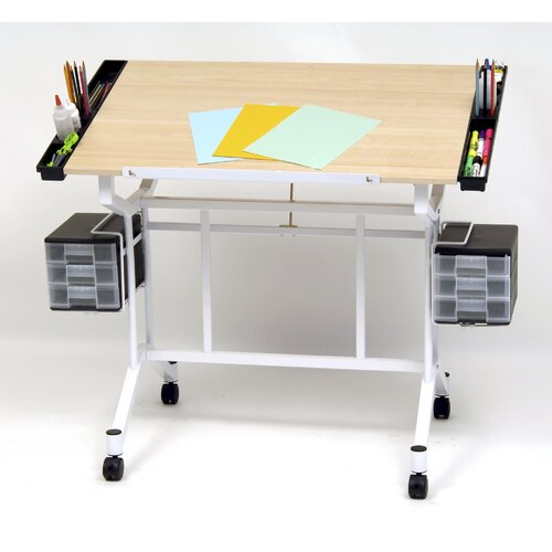 "Studio Designs Pro Station Wood 45""W x 24""D Drafting Table"