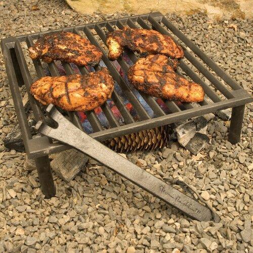 Charcoal Companion Steven Raichlen Tuscan Cast Iron Grill