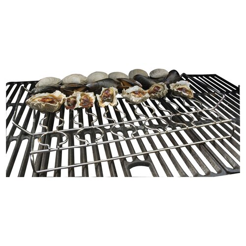 Charcoal Companion Steven Raichlen Stainless Seafood Rack