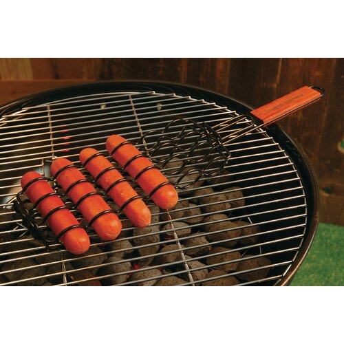 Non-Stick Adjustable Sausage Grilling Basket
