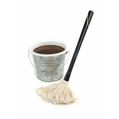"Charcoal Companion Steven Raichlen 18"" Sauce Mop with Removable Head"