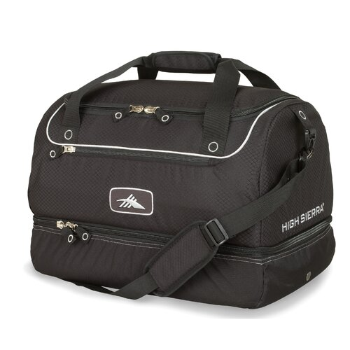 "High Sierra Ski and Snowboard 21.5"" Over-Under Travel Duffel"