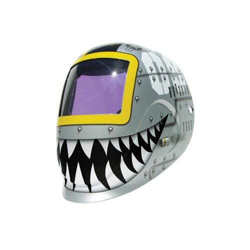 Tiger Python Welding Helmet With Varaible Shade 9 - 13 Auto-Darkening Lens With 12.6 sq. ...
