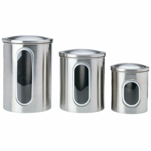 Polder 3-Piece Window Canister Set