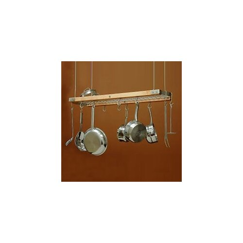 Ceiling Oval Hanging Pot Rack