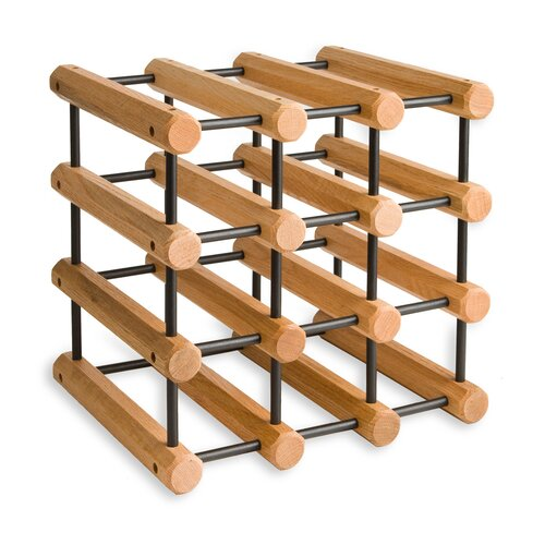 J.K. Adams 12 Bottle Tabletop Wine Rack