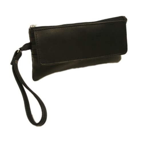 Fashion Avenue Flap-Over Wristlet