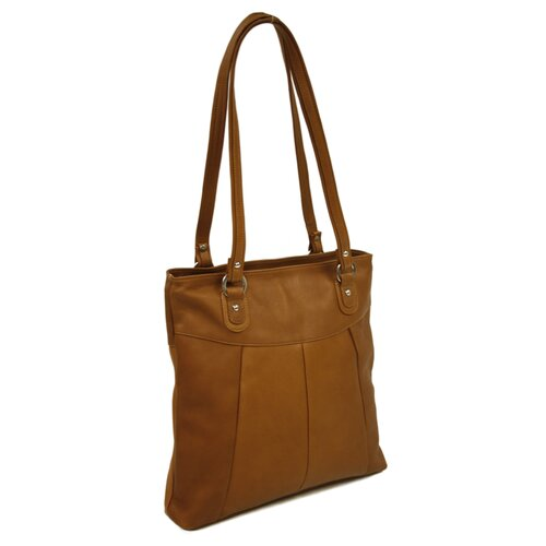 Piel Leather Fashion Avenue Butterfly Tote