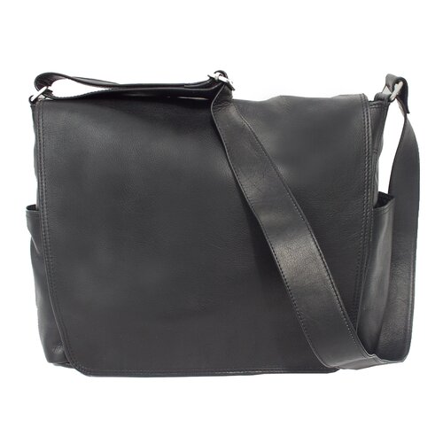 Piel Leather Messenger Bag