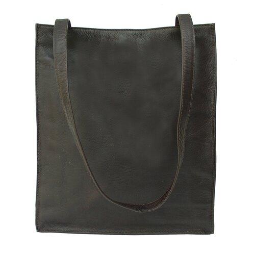 Piel Leather Fashion Avenue Open Market Tote