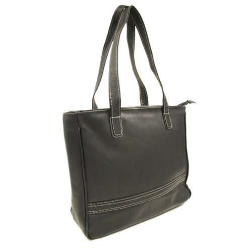 Piel Leather Women's Laptop Shopping Tote