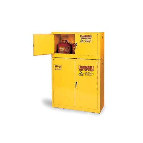 "Eagle Manufacturing Company 35"" H x 23"" W x 18"" D 12 Gallon Flammable Safety Storage Cabinet"