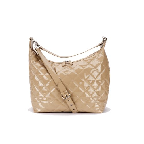 JP Lizzy Patent Hobo Diaper Bag